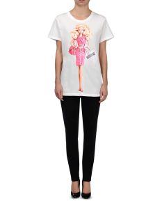 Moschino €261 - Barbie Print T-shirt http://bit.ly/1vcv5Cd
