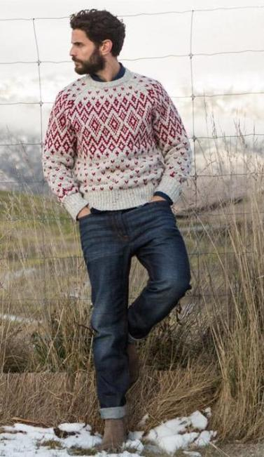 Fat Face €60.42 - Alpine Patterned Crew Jumper http://bit.ly/1EO5PlF
