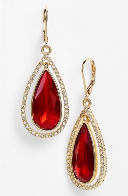 Anne Klein €22.12 - Teardrop Earrings http://bit.ly/1pD8Eo3