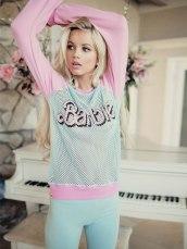 Wildfox €130 - Barbie Warm Up Sweater http://bit.ly/1CYofoc