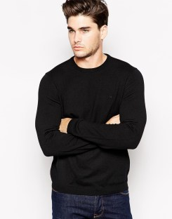 Calvin Klein €120.85 - Jumper In Crew Neck http://bit.ly/1ysYENS