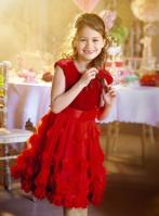 Monsoon €78 - Velvet Rosie Cascade Dress http://bit.ly/1vjKcdV