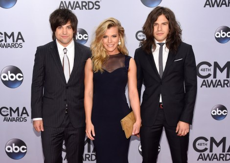 Neil Perry, Kimberly Perry, and Reid Perry of The Band Perry
