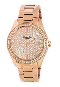Kenneth Lane €136 - Ladies rose gold plated analogue watch http://bit.ly/1ybhPOc