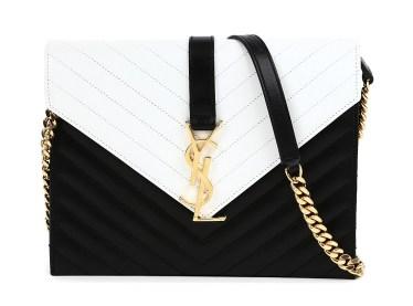 Saint Laurent € 1,626.90 - Monogramme chain shoulder bag http://bit.ly/1yb8fLd