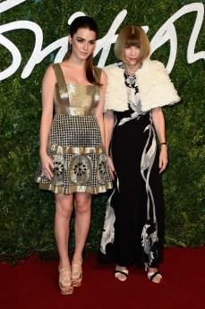 Bee Shaffer & Anna Wintour