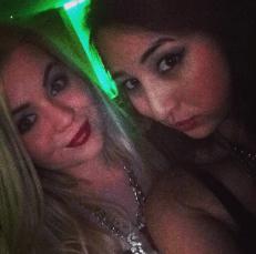 Megan Daly & myself at the Blog Awards Ireland 2014