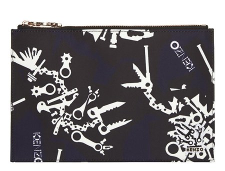 Kenzo €100 - Monster Pouch http://bit.ly/1zUJrbr
