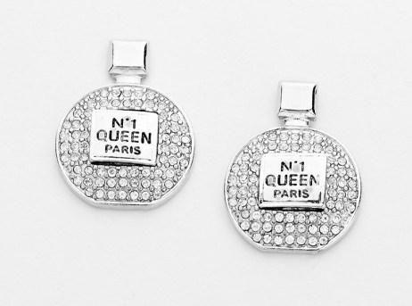 Glitz N Pieces €19 - Perfume Bottle Earrings http://bit.ly/1yrVs8z