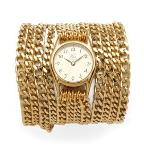 Shopbop € 212.47 - Sara Designs Small All Chain Watch http://bit.ly/1rQegac