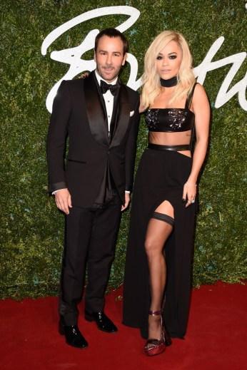 Tom Ford & Rita Ora