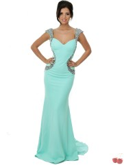 Cherrie Bum €350 - Backless Embellished Train Gown http://bit.ly/1ugnTFX