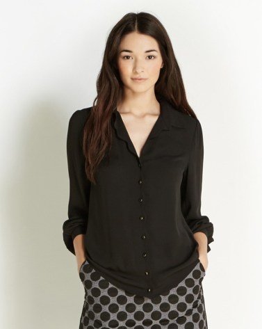 Oasis €47 - Scallop Placket Shirt http://bit.ly/1w8MyGE