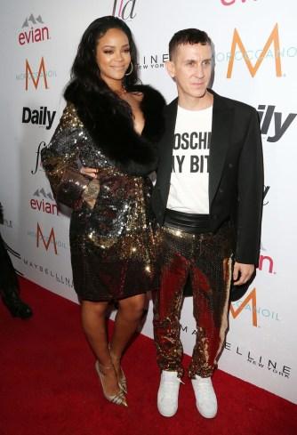 Rihanna & Jeremy Scott