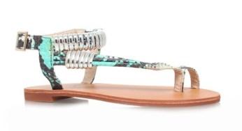 Carvela €85 - Klipper Snakeskin Sandals http://bit.ly/1DtFlY4