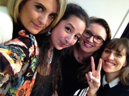 (L-R) Lorna, myself, Marta & Kassi
