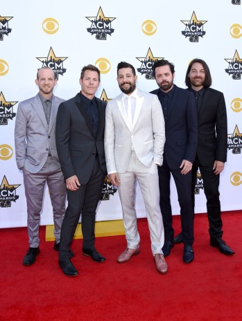 (L-R) Whit Sellers, Trevor Rosen, Matthew Ramsey, Brad Tursi and Geoff Sprung of Old Dominion