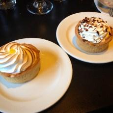 Lemon Meringue & Banoffee Pie