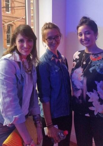 Kassi, Ellen and I