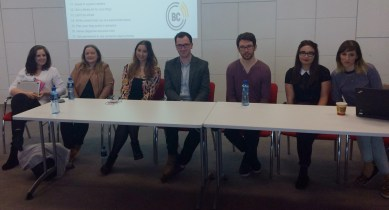 (L-R) Emma O'Farrell, Gail O'Connor, myself, David Corscadden, Alan Bennett, Jade Hayden and Kassi. (Photo by Just Kassi)