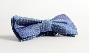 MyKindOfTie €15 - Channing Blue Polkadot Bow Tie http://bit.ly/1RCw2h2