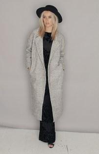 Folkster €120 - Grey Cocoon Coat http://bit.ly/1NRlp8j