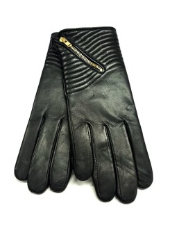 Kilkenny Shop €39.95 - Ashwood Ladies Zip Gloves Black Large http://bit.ly/1QqGUiJ