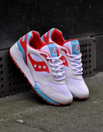 Saucony Shadow 6000 White/Blue/Red, €115.69/£89 http://bit.ly/1X8rBvh