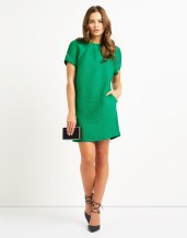 Frnch €78/£60 - Textured Shift Dress http://bit.ly/28KDWEv