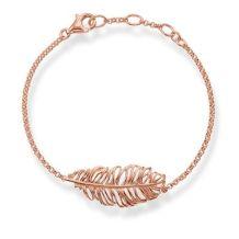 Thomas Sabo €89.50 - Rose Gold Feather Bracelet http://bit.ly/28Izvvo