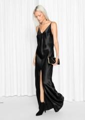 & other Stories €135 - Full Length Satin Slip Dress http://bit.ly/2eEBLH3