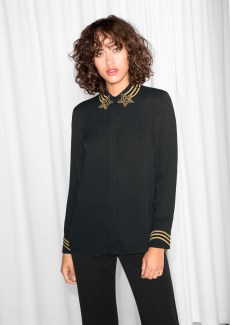 & other Stories €75 - Shooting Star Blouse http://bit.ly/2f6I5Zk