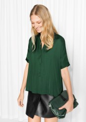 & other Stories €55 - Oversized Buttoned Top http://bit.ly/2f6ITNW