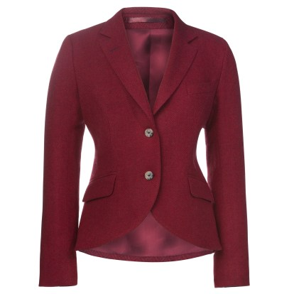 Magee 1866 €379 - Lily Herringbone Tweed Jacket & Corsage http://bit.ly/2eF9QYN