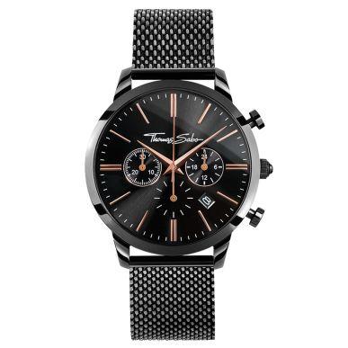 Thomas Sabo €349 - Rebel Spirit Chrono Watch Black & Rosé http://bit.ly/2encqyW