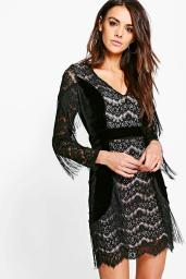 boutique-ann-tassle-velvet-bodycon-dress