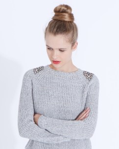 Dunnes Stores €50 - Savida Dusk Crystal Jumper http://bit.ly/2fhYslC