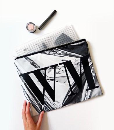 Rianna Phillips, €47.45 - Large Monogram Foil Print Clutch Bag https://marketplace.asos.com/listing/bags/large-monogram-foil-print-clutch-bag/2748076