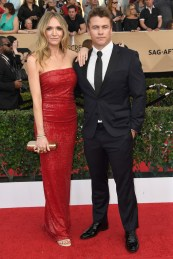 Samantha and Luke Hemsworth