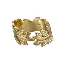 Chupi €139 - Gold Ring Crown of Love Laurels https://www.chupi.com/products/crown-of-love-ring-in-gold