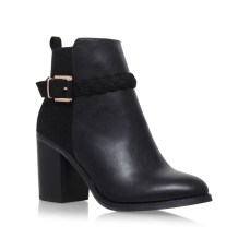 Miss KG €85 - Swift Black Mid Heel Ankle Boots http://bit.ly/2mA5n8H
