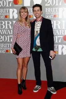 Sara Cox and Nick Grimshaw
