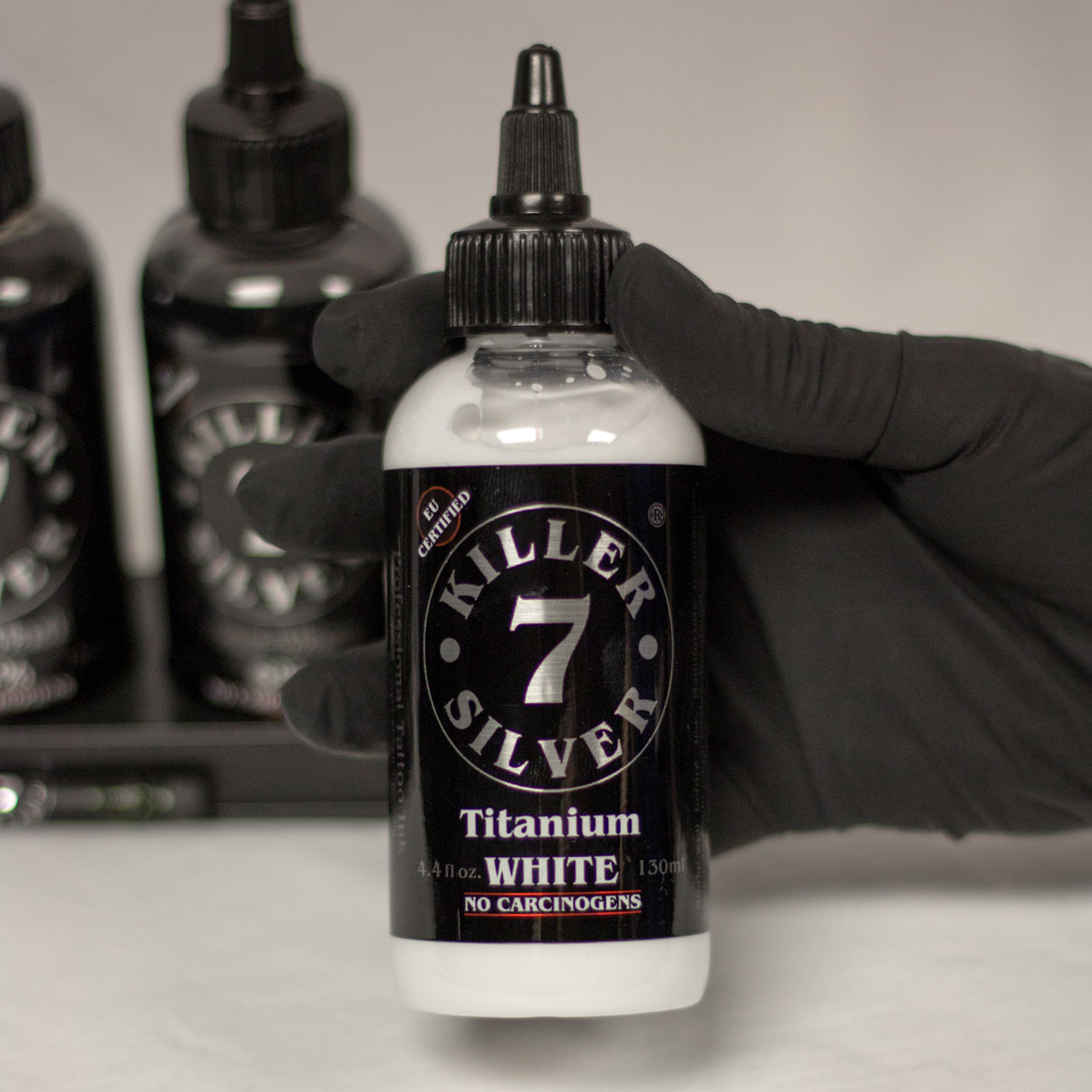 Titanium White-Professional Tattoo Ink-4.4 oz-Killer Silver