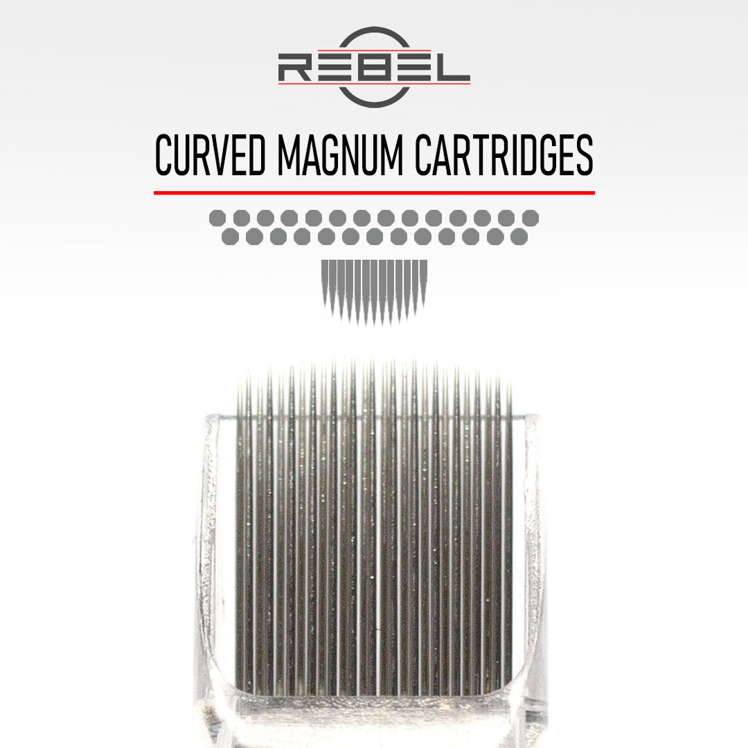 Curved Magnum - Precision Tattoo Cartridges - REBEL
