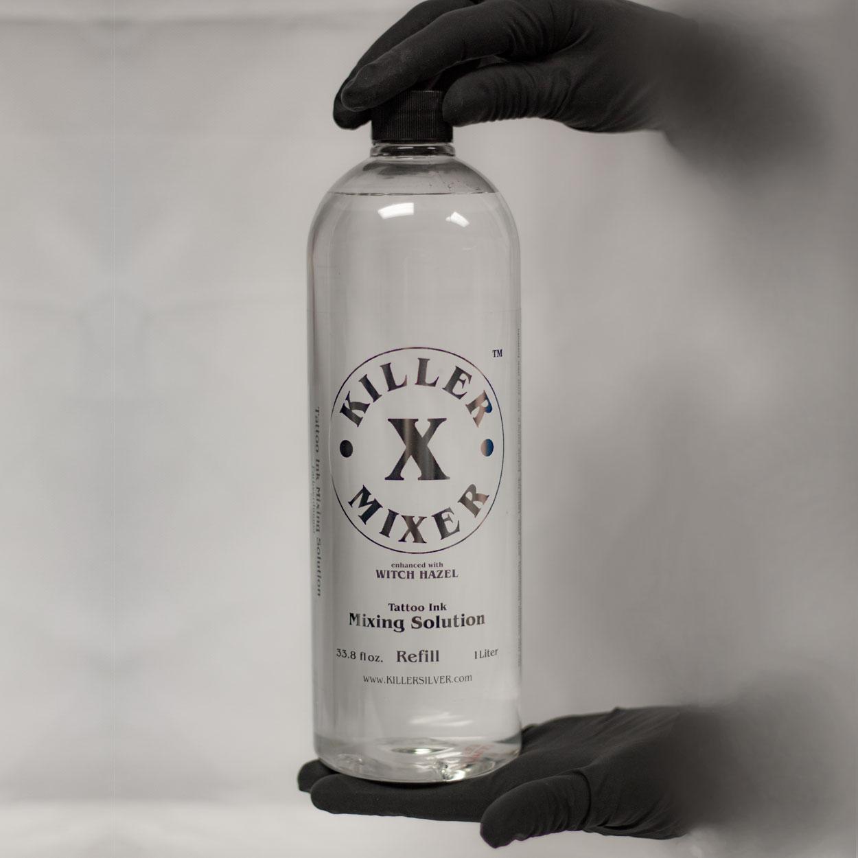 Tattoo Ink Mixing Solution - Killer X Mixer - Killer Silver