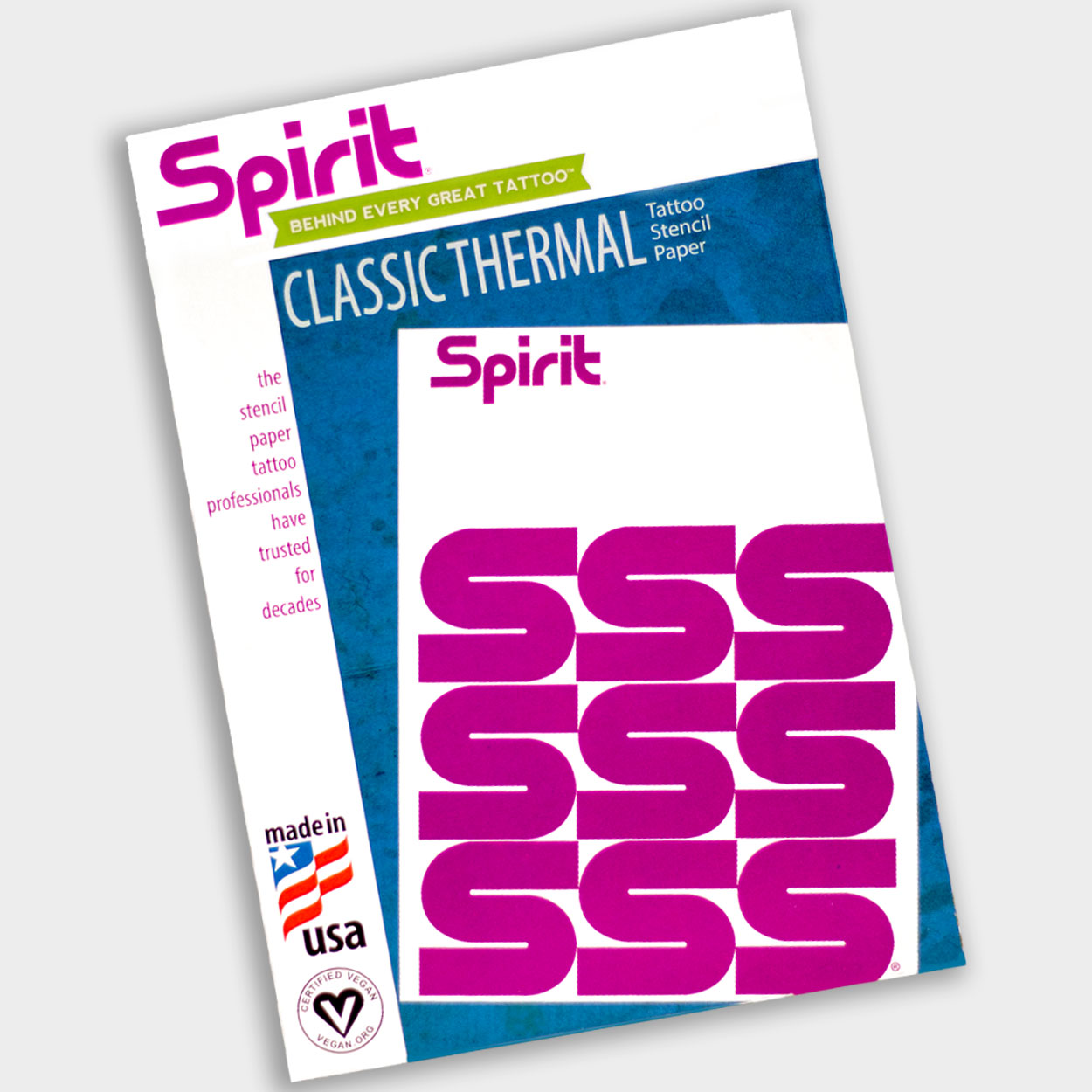 Classic Thermal Tattoo Stencil Transfer Paper - Spirit - Killer Silver