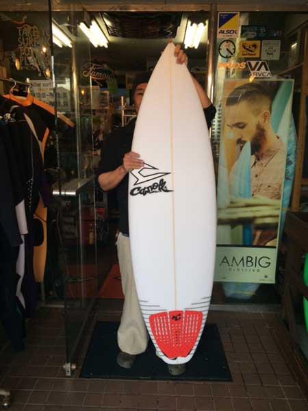 JUSTICE surf board GEM model