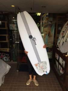 JUSTICE surfboard Barracuda Vector Flex model 5'6