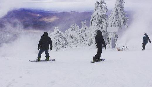 Killington got 10″ of snow overnight