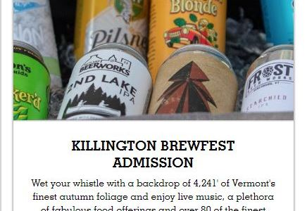 Killington Brewfest 2019